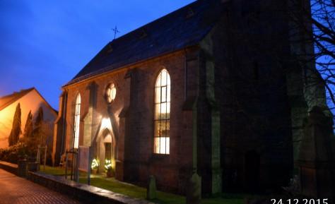 Gottesdienst am Heiligen Abend in Mellnau