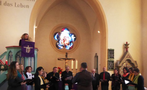 Kirchenchor in Mellnau