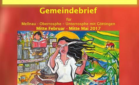 Gemeindebrief Mitte Februar – Mitte Mai