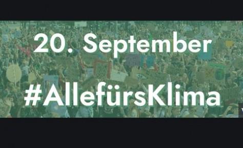 Evangelische Kirche von Kurhessen-Waldeck unterstützt #AllefürsKlima