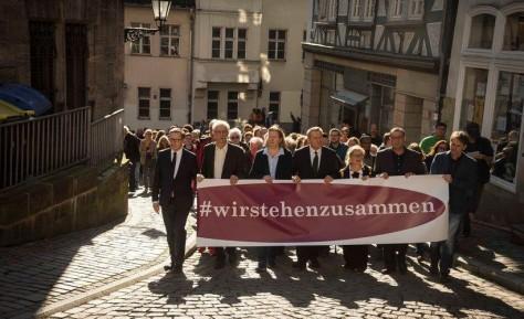 """""""Wir stehen zusammen!"""" – Karl-Günter Balzer, Bilder und Berichte"""