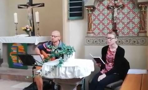 Weitere Liedbeiträge aus der Mellnauer Kirche vom 23.08.2020