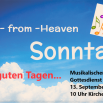Hit from Heaven am Sonntag